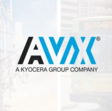 Колодка для платы AVX Corporation