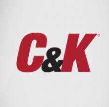 Кнопочный выключатель C&K