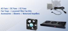 Осевые вентиляторы 127MM Orion Fans