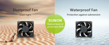 AC Вентиляторы 80X25.5MM 220-240VAC Sunon