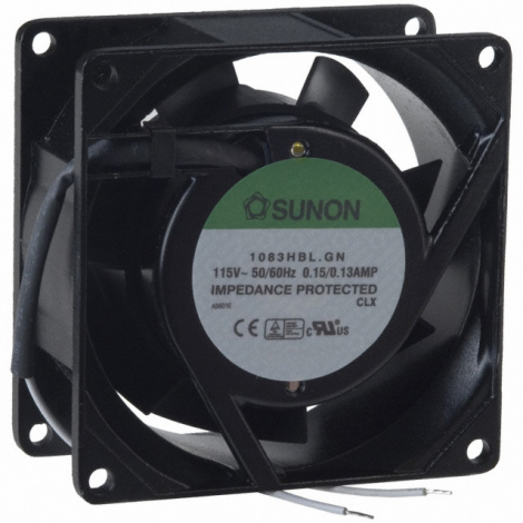 A1123-HBL.GN | SUNON | AC Вентилятор 119.5X38.5MM 115VAC